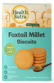 Foxtail Millet Biscuits by Health Sutra
