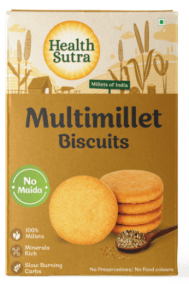 Multi Millet Biscuits by Health Sutra, Fountainhead Foods