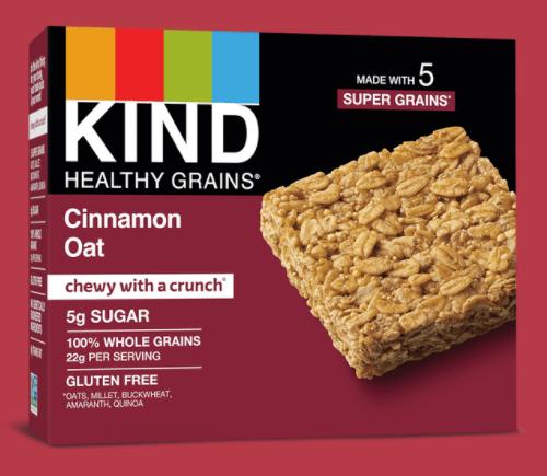 Healthy Grains Cinnamon Oat Bar by KIND