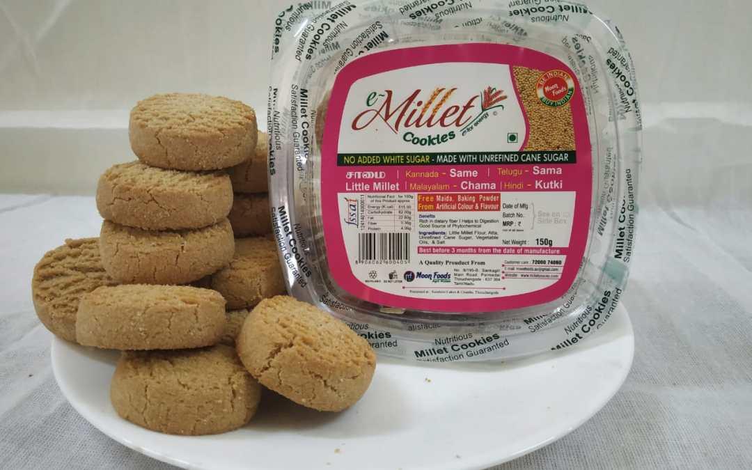Little Millet Cookies by Moon Foods