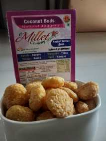 Millet Coconut Buds by Moon Foods