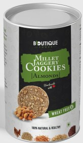 Millet Cookies Almonds by Boutique Foods