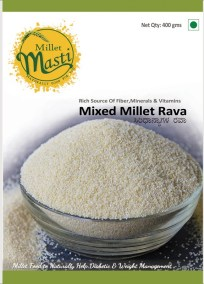 Mixed Millet Rava  by Millet Masti, Purnashraddha