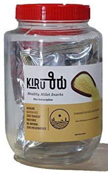 Millet Stick Jar by Kiru, OrgTree