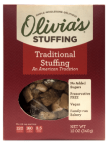 Traditional Stuffing by Olivias Croutons