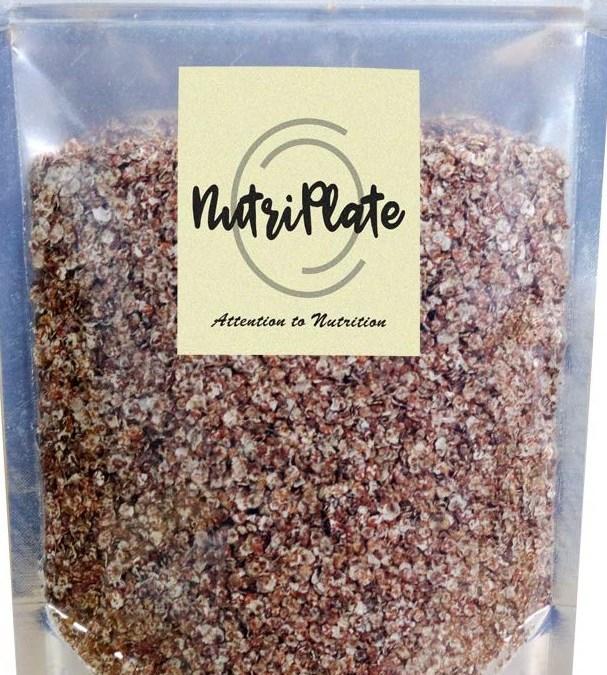 Ragi Millet Flakes by Nutriplate