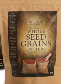 Red Millet Seed Grains