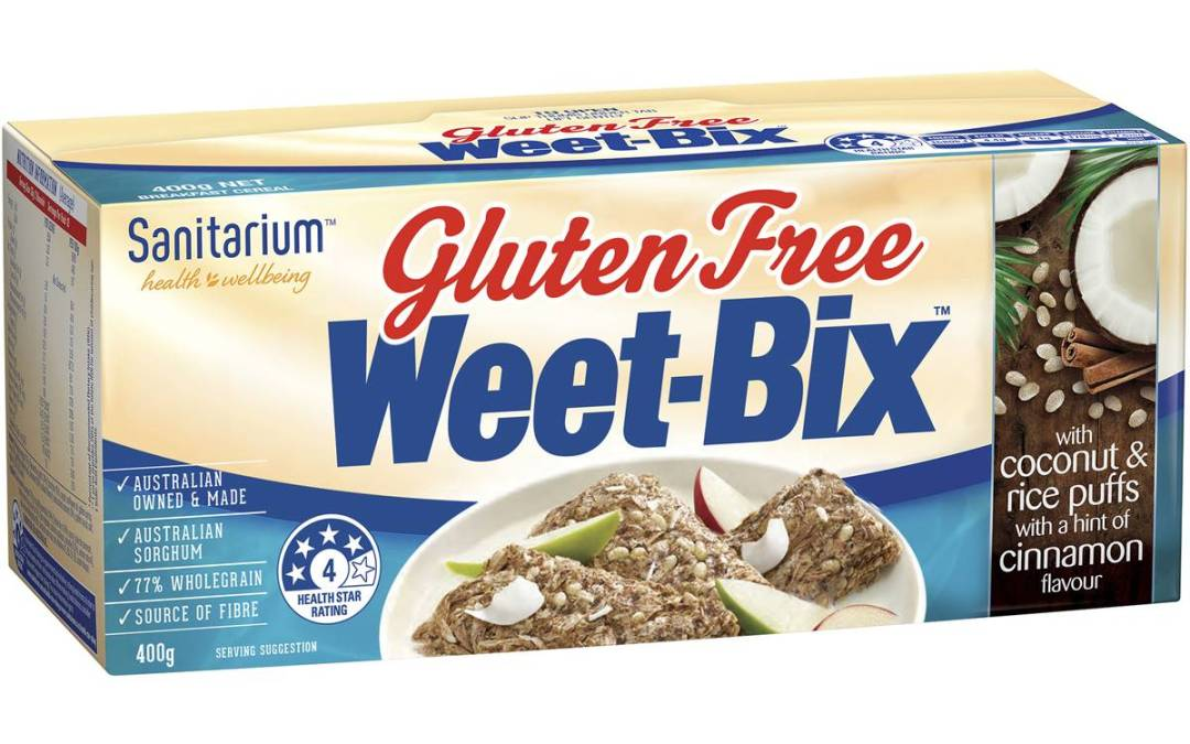 Sorghum Gluten Free Weet Bix by Sanitarium