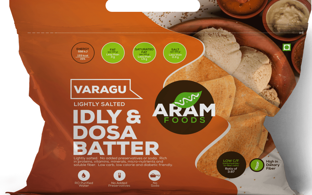 Varagu Idly and Dosa Batter by Aram Foods