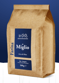 Wholemeal Millet Flour by Sottolestelle