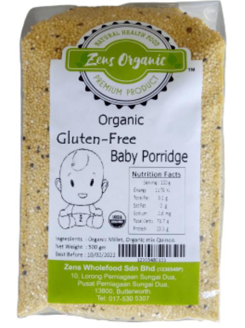 Gluten Free Porridge by Zens Organic
