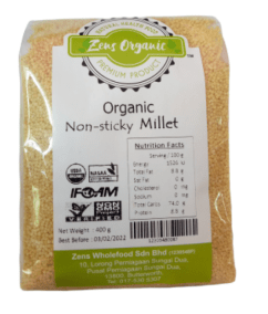 Organic Non Sticky Millet by Zens Organic