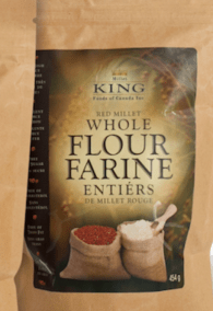 Red Millet Whole Flour by Millet King
