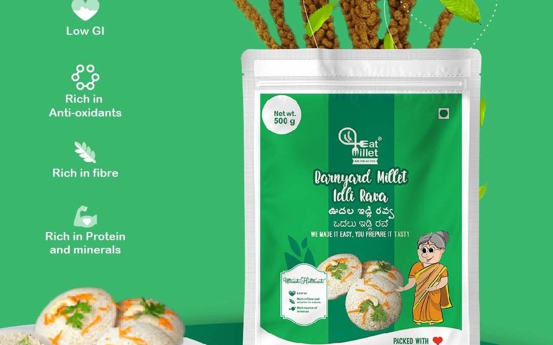 Barnyard Millet Idli Rava by Eat Millet, Coastal Foods