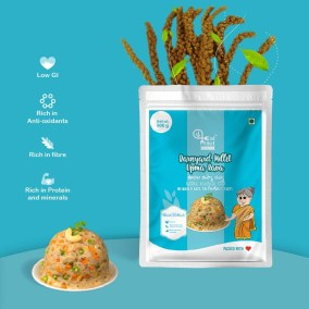 Barnyard Millet Upma Rava by Eat Millet, Coastal Foods
