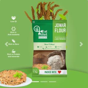 Jowar Flour by Eat Millets, Coastal Foods