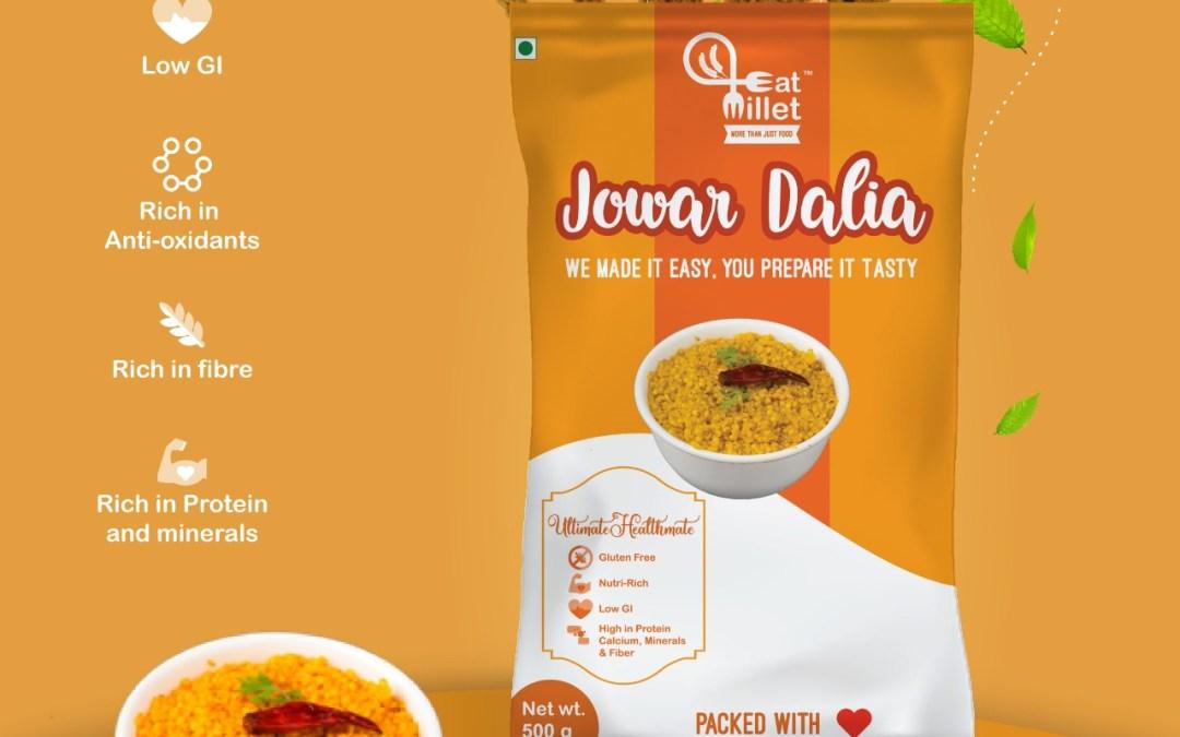 Jowar Dalia by Eat Millets, Coastal Foods