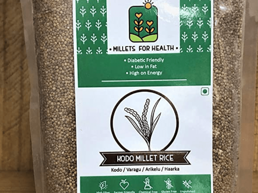 Kodo Millet Rice by Millets for Health