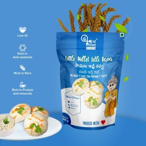 Little Millet Idly Rava by Eat Millet, Coastal Foods