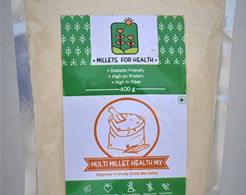 Multi Millet Health Mix by Millets for Health