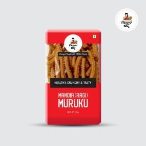 Finger Millet Murukku by Millet Shakti