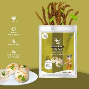 Yellow Jowar Idly Rava by Eat Millets, Coastal Foods