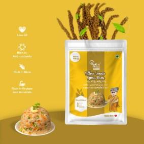 Yellow Jowar Upma Rava by Eat Millets, Coastal Foods