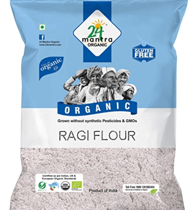 Ragi Flour by 24 Mantra
