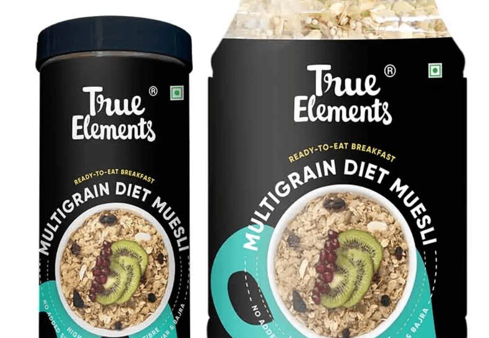 Multigrain Diet Muesli by True Elements