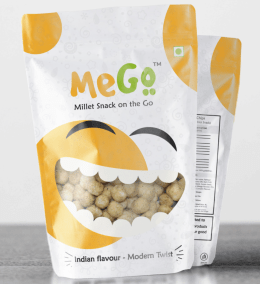 Multigrain puff Cheese and Spinach by mego