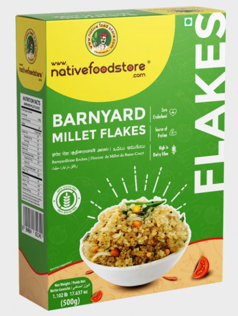 Barnyard Millet Flakes by Native Food Store