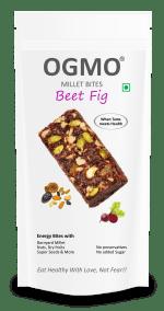 Millet Bites Beet Fig by OGMO