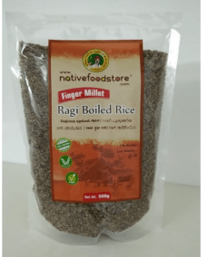 Finger Millet Boiled Rice by Native Food Store