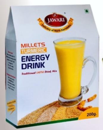 Millet Turmeric Energy Drink by Jawari