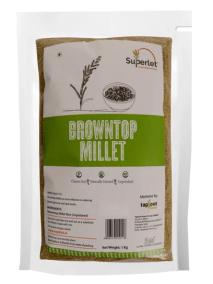 Browntop Millet by Superlet