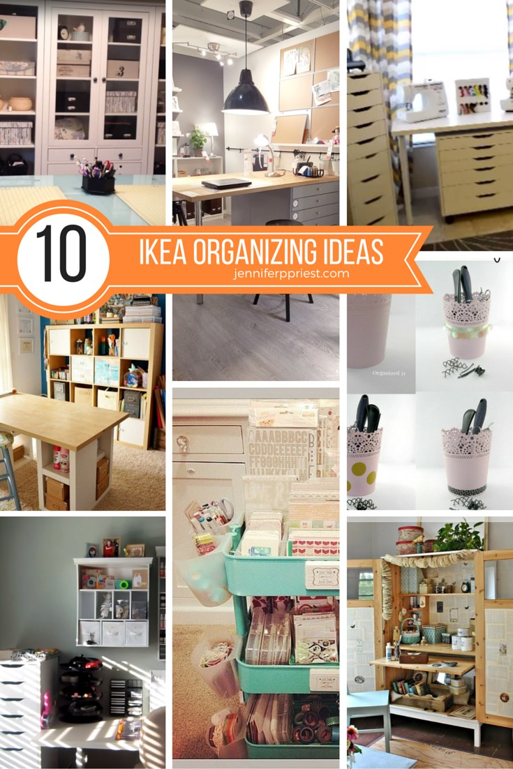 Ikea craft rooms 10 organizing ideas from real ikea for Ikea craft room furniture