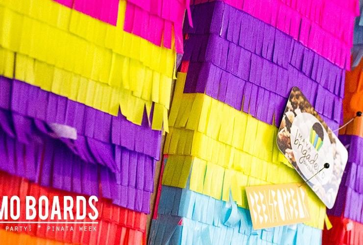 DIY Piñata Bulletin Board – Piñata Week!