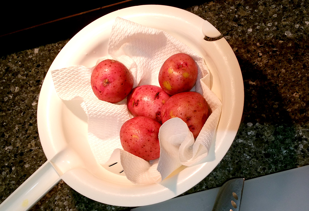 Washed Potatoes Jpriest