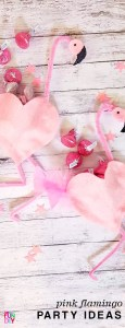 DIY pink flamingo party ideas - cute straws and party favors you can make #flamingo #flamingoparty #valentines #DIYvalentine #classroomvalentine #Valentinecards