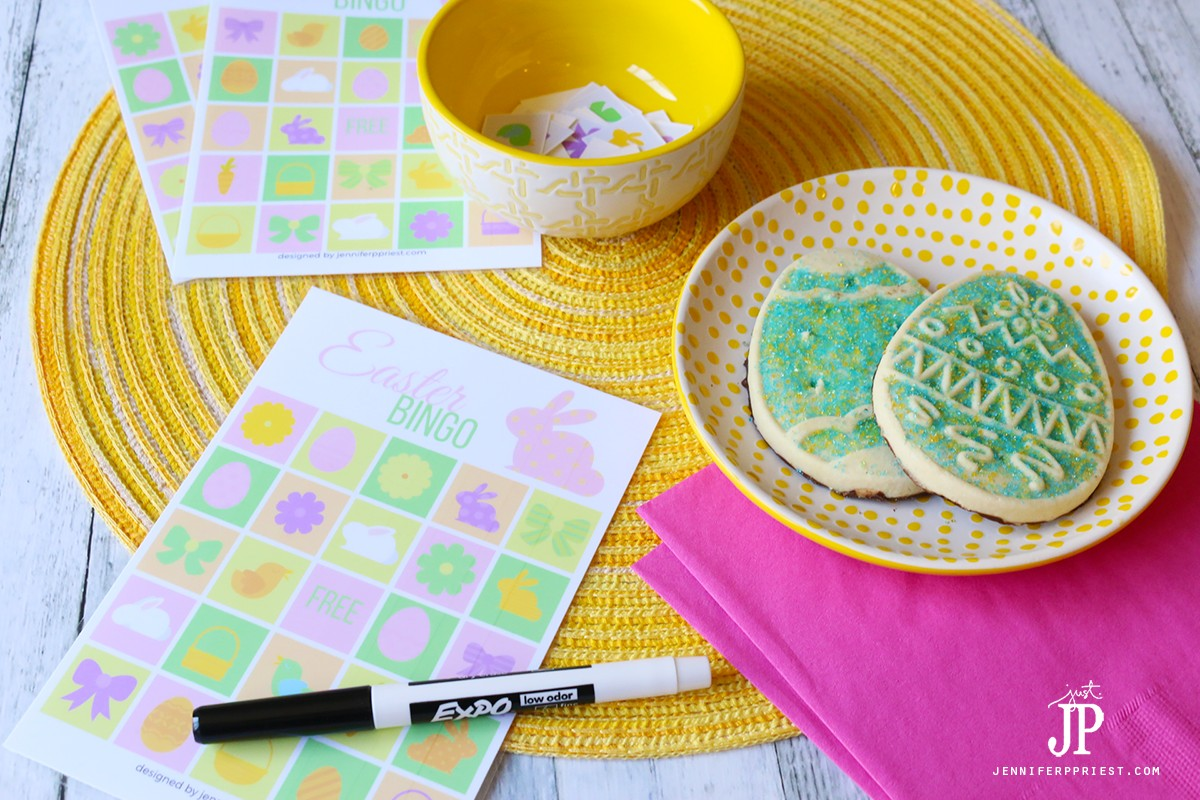 DIY Easter Bingo Cards Game With FREE Printables