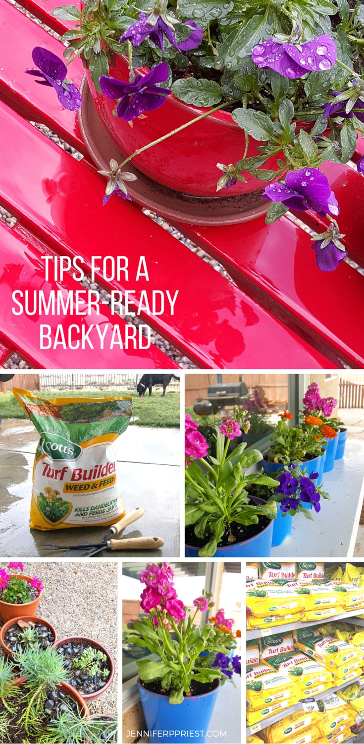 5 tips for a summer ready backyard in one weekend loveyourlawn