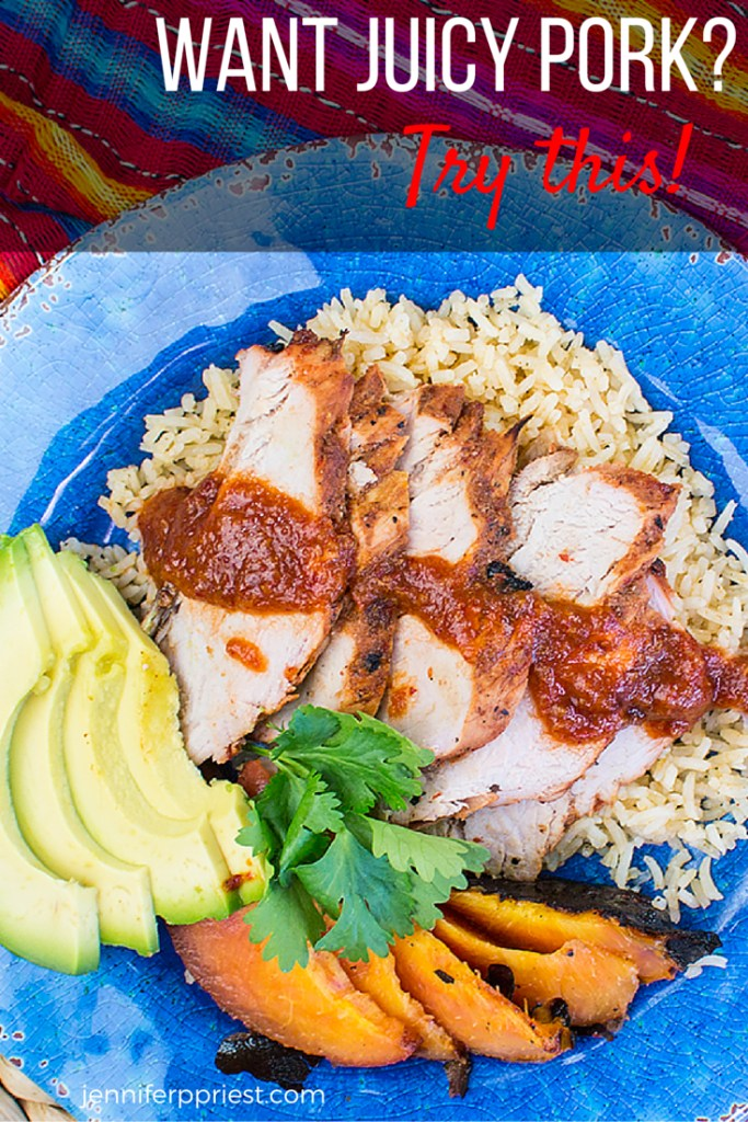 Want juicy pork? Try this recipe for Chamoy Pork Loin - you can make this on the barbecue and it will be the juiciest pork you'll eat all summer! Get the recipe HERE and find out what wine to pair with this meal!!