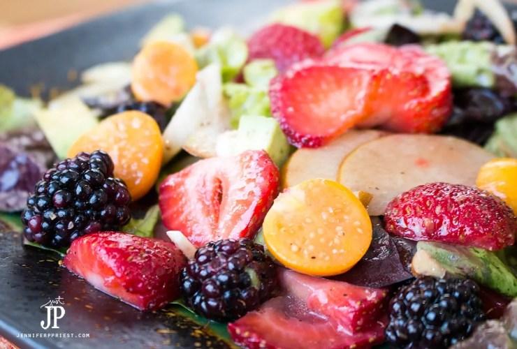 Paleo Summer Moscato Strawberry Salad