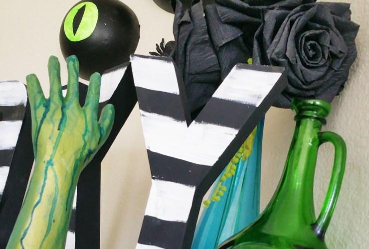 Creepy Hands Halloween Decor – #CraftLightning