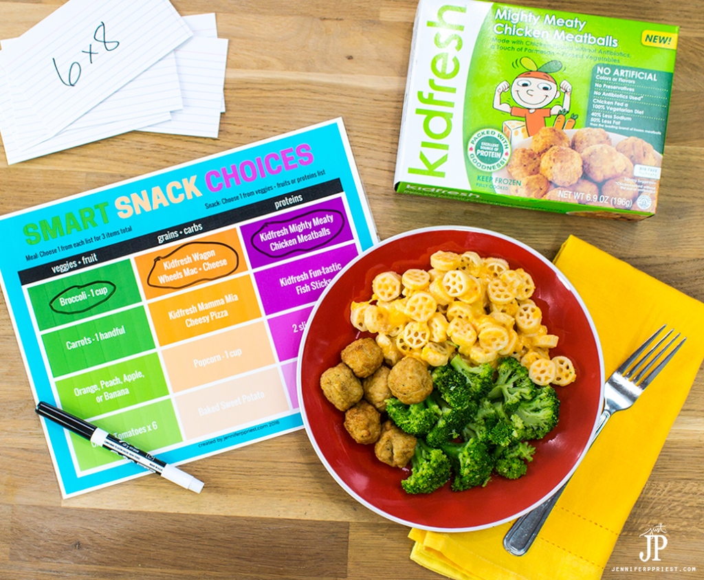 Mom Hack Printable Snack Chart For Back To School