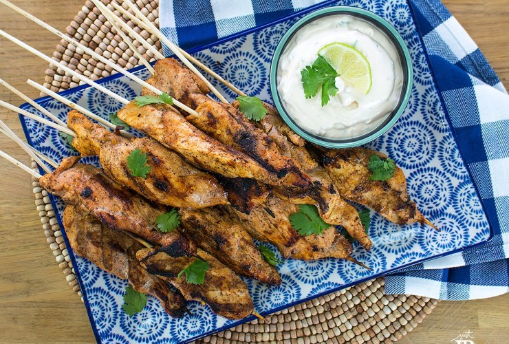 Mexican Chicken Satay Recipe – Tailgating Party Food