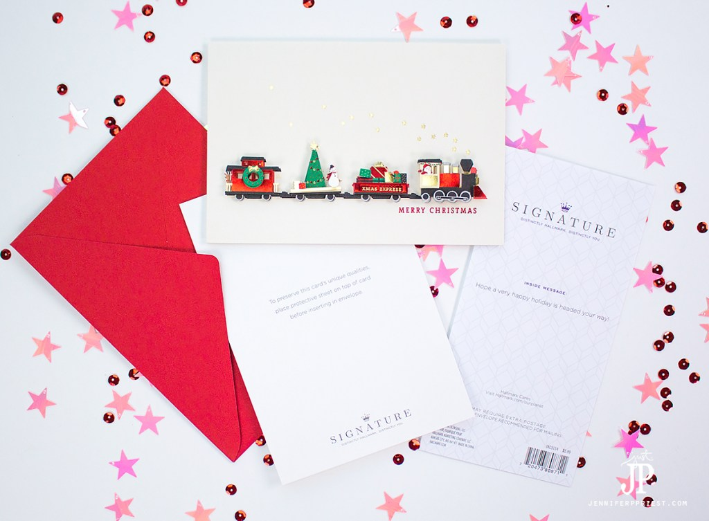 how to create a christmas card to send by email