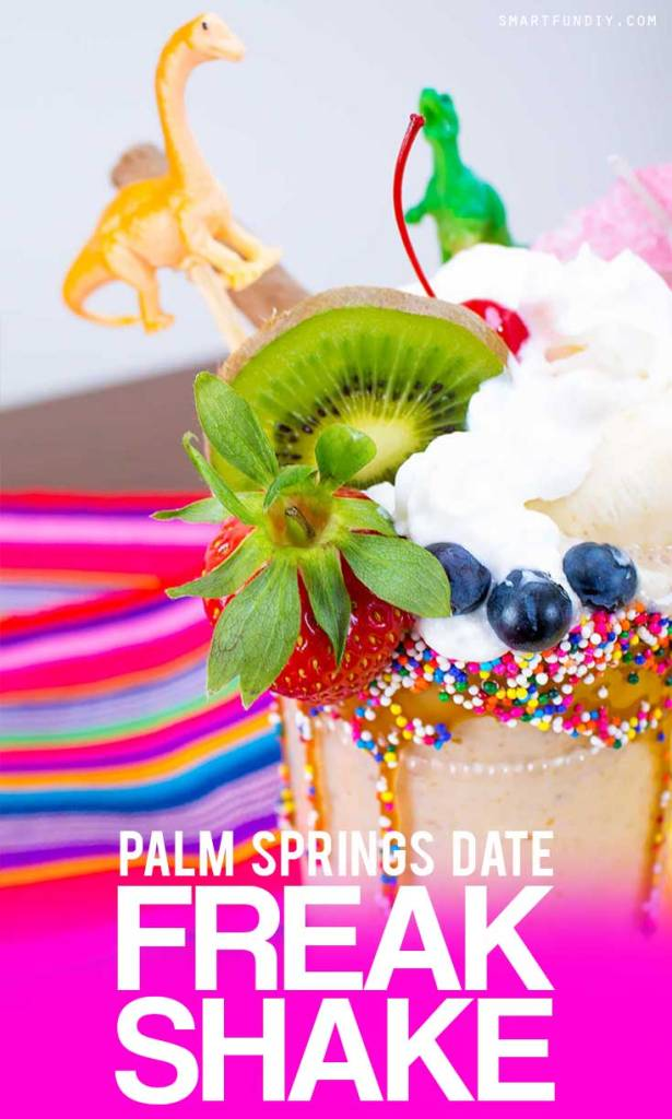 VEGAN Banana Date Shake recipe PLUS how to make a Palm Springs Date Banana Freak SHAKE! Inspired by the Lip Smacker Tastemaker Contest ... #LStastemaker