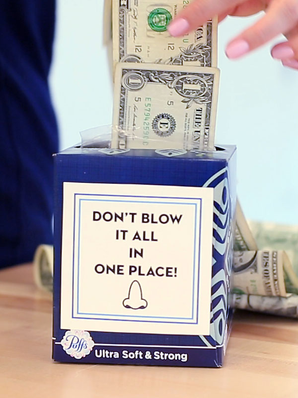 120 Creative Ways To Give Gift Cards Or Money Gifts