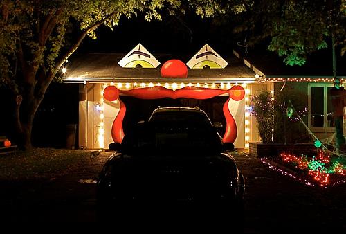Halloween Home & Garage Decorations | Smart Garage on Garage Decoration  id=78684